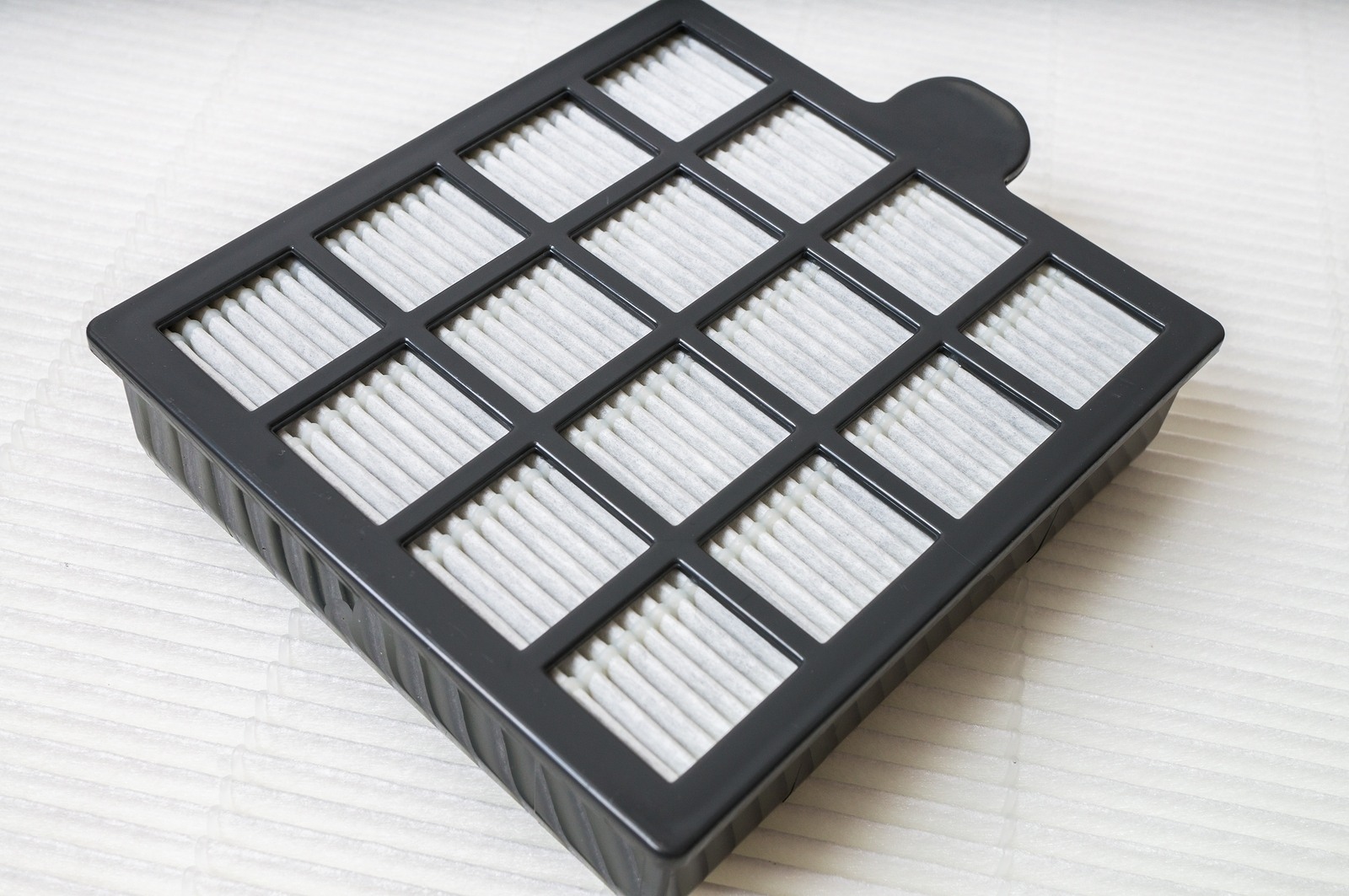 HEPA dust filter for air purifier