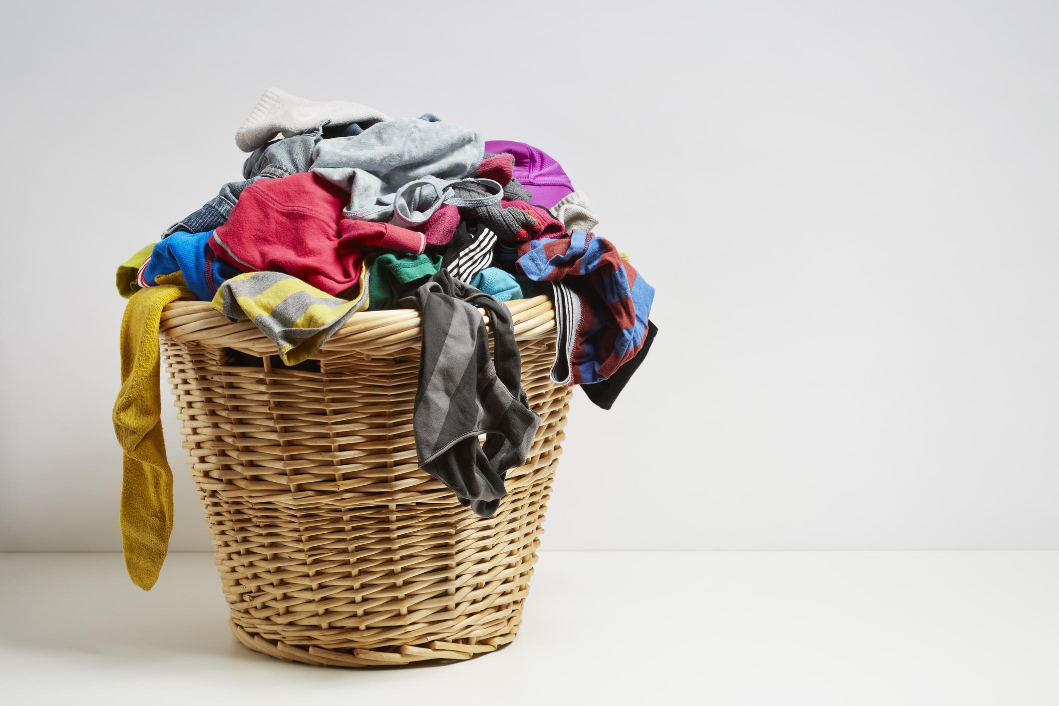 Basket full of socks