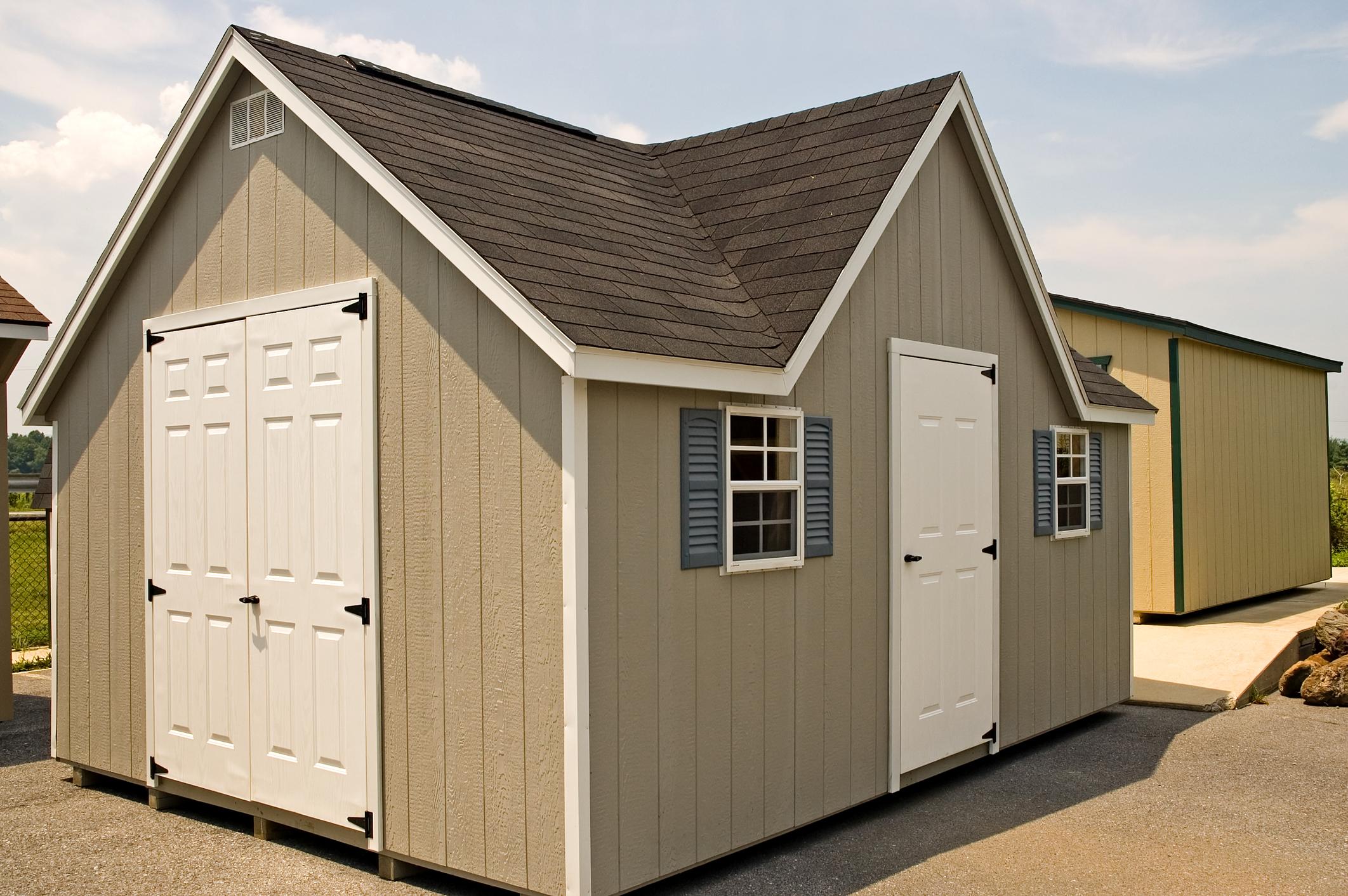 New Utility Storage Shed