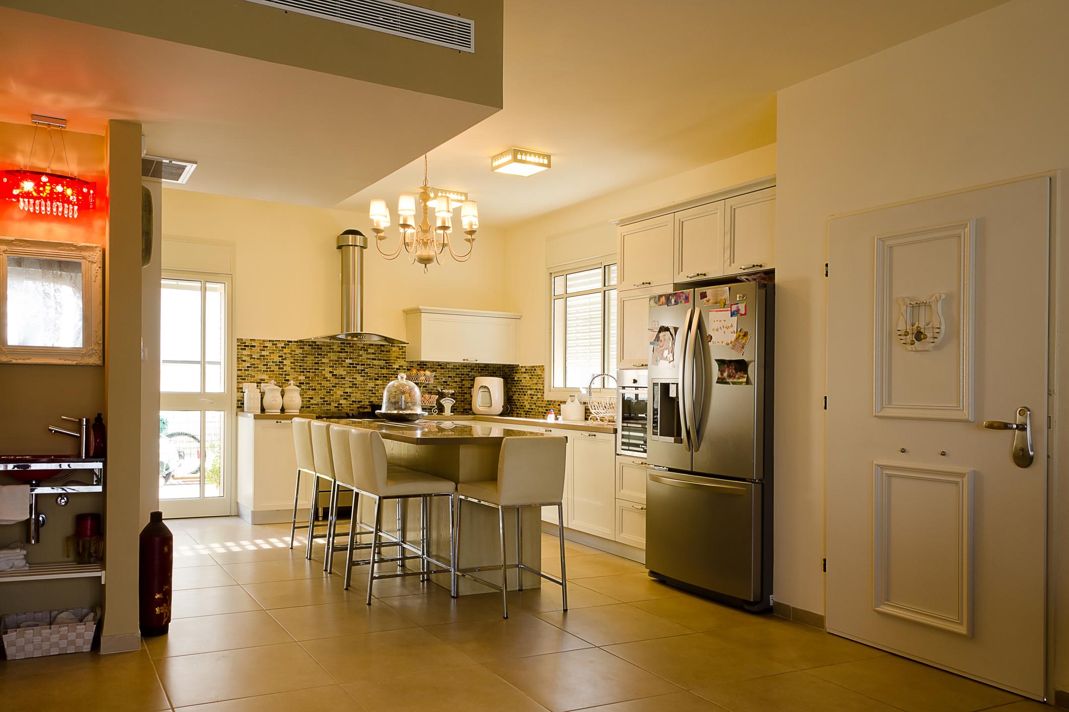 Open design kitchen
