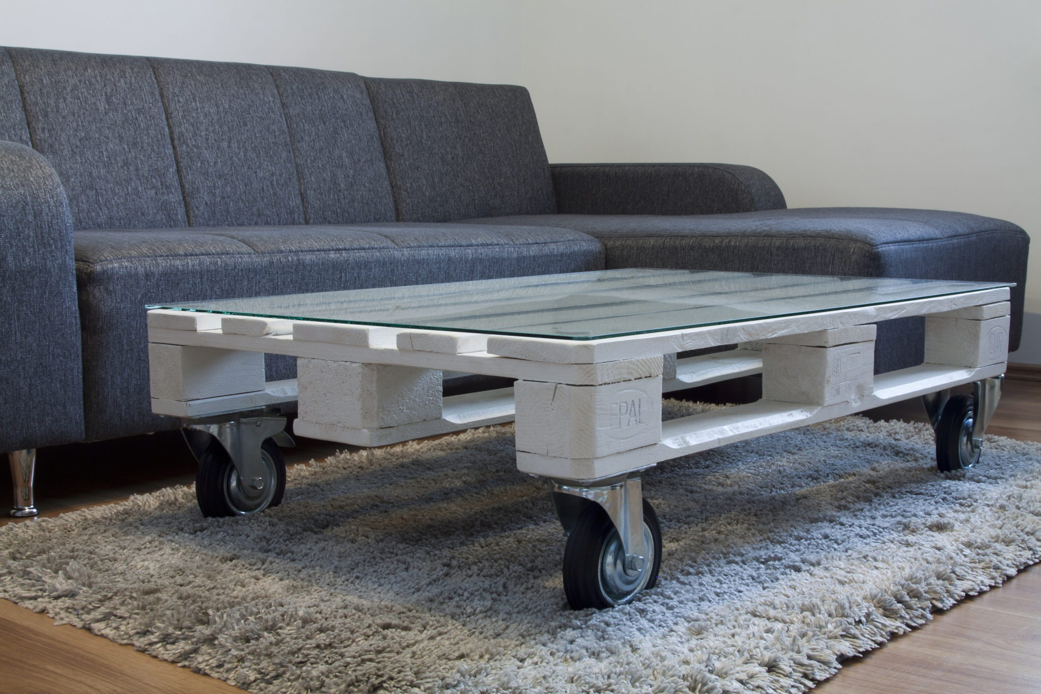 Coffee table pallette